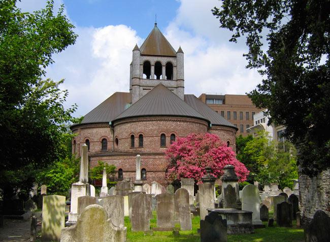 Circular Congregational Church Sanctuary